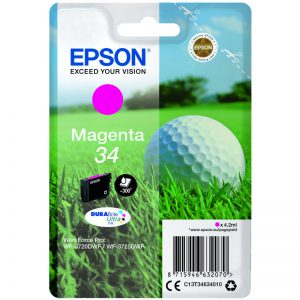 Epson 34 magenta golfball ink cartridge